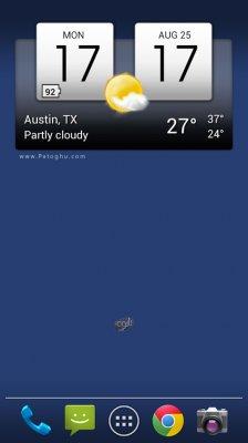 نرم افزار آب و هوا و ساعت زیبا برای اندروید Digital clock & world weather 1.07.05