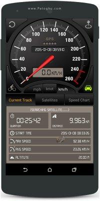 نرم افزار سرعت سنج برای اندروید Speedometer GPS Pro v3.7.09