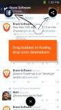 مرورگر سریع و امن برای اندروید Brave Browser - Link Bubble v1.9.52