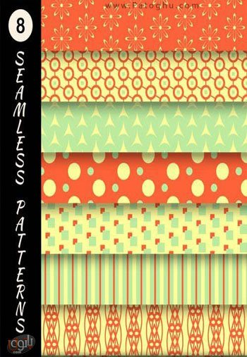 Seamless Pattern Collection Stock