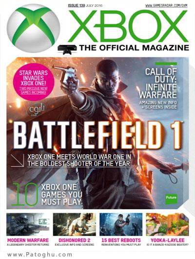دانلود مجله بازی XBOX Official Magazine July 2016