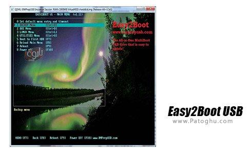 دانلود نرم افزار بوت کردن آسان Easy2Boot USB