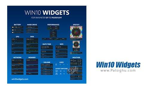 دانلود نرم افزار Win10 Widgets برای ویندوز