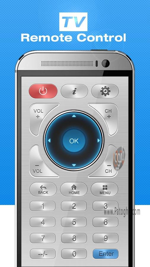 چه گوشی های مجهز به مادون قرمز مبدل گوشی به کنترل تلویزیون اندروید 2.0 Remote Control for ...