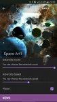 دانلود والپیپر Asteroids 3D live wallpaper برای اندروید