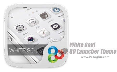 دانلود نرم افزار White Soul GO Launcher Theme برای اندروید