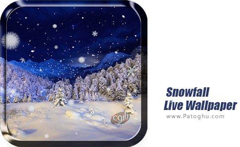 دانلود نرم افزار Snowfall Live Wallpaper برای اندروید