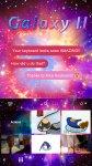 دانلود نرم افزار Galaxy2 Kika Keyboard Theme برای اندروید
