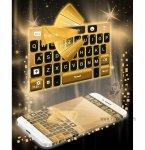 دانلود نرم افزار Neon Gold GO Keyboard برای اندروید