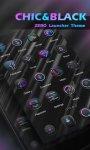 دانلود نرم افزار Chic&Black Theme-ZERO Launcher برای اندروید