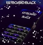 دانلود نرمافزار GO Keyboard Black Theme برای اندروید