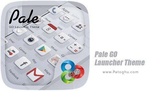 دانلود تم Pale GO Launcher Theme برای اندروید