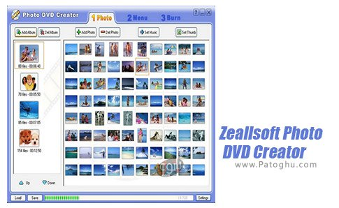 دانلود نرم افزار Zeallsoft Photo DVD Creator برای اندروید
