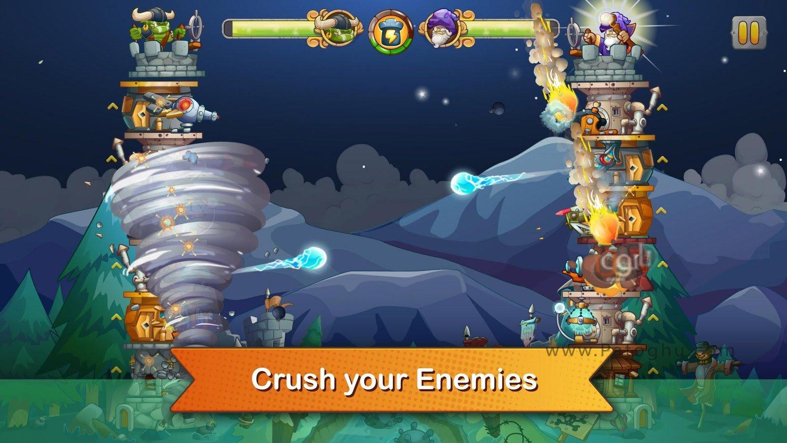 دانلود بازی epic defense با پول بی نهایت دانلود بازی Tower Crush 1.1.41 – دفاع از قلعه برای اندروید