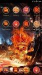دانلود نرم افزار Skeleton Hola Launcher Theme برای اندروید