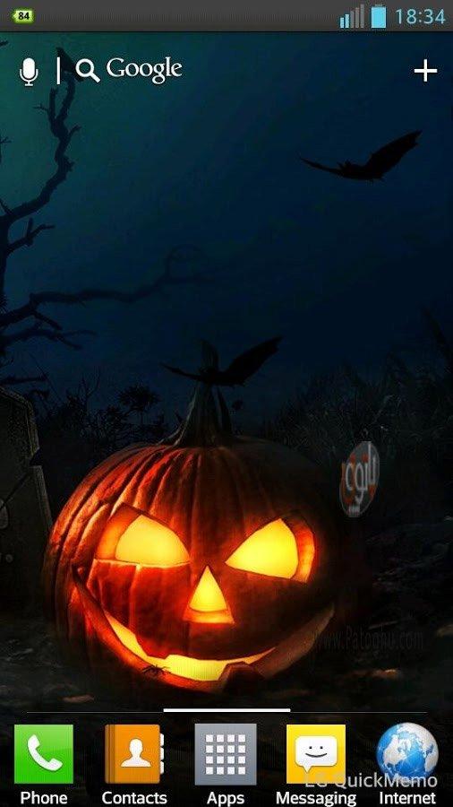 halloween hd live wallpaper 1 0
