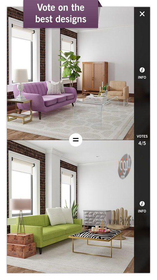 Take A Picture Of A Room And Design It App: دانلود بازی طراحی خانه برای اندروید Design Home 1.03.69