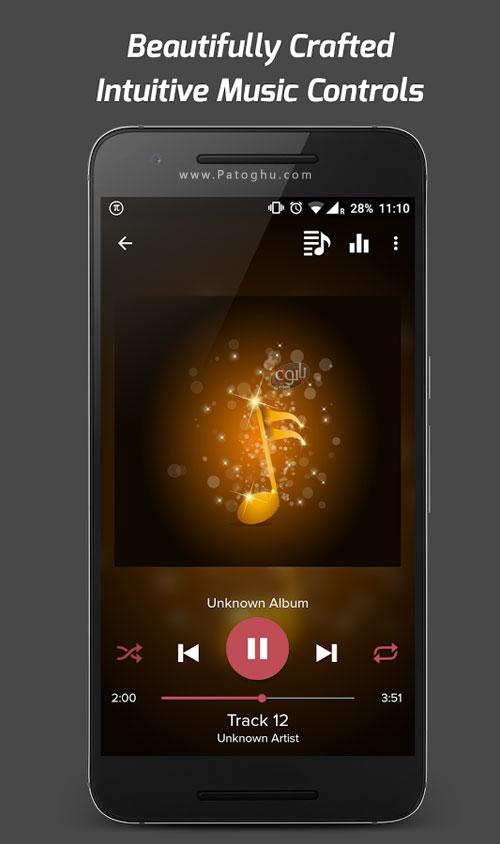 دانلود رایگان تم های پولی اندروید دانلود موزیک پلیر فوق العاده برای اندروید Pi Music Player ...