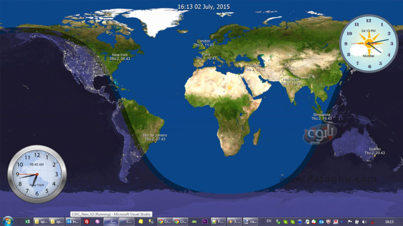 All About Day And Night World Map Time And Date Kidskunst Info