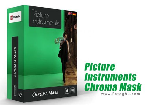 نرم افزار عکس برداری با پس زمینه سبز Picture Instruments Chroma Mask