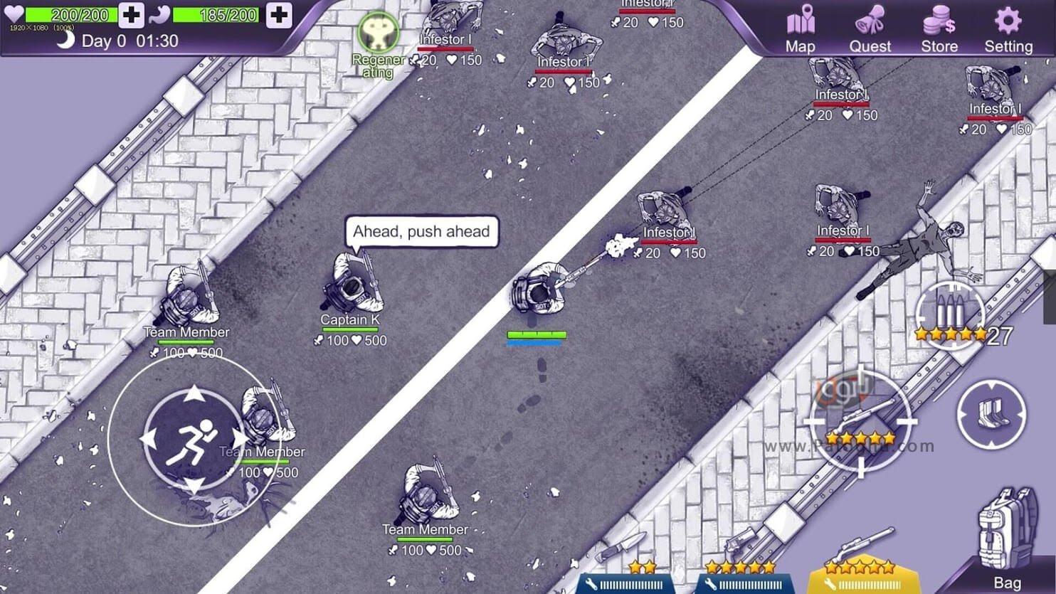 دانلود بازی Ares Virus برای اندروید 2