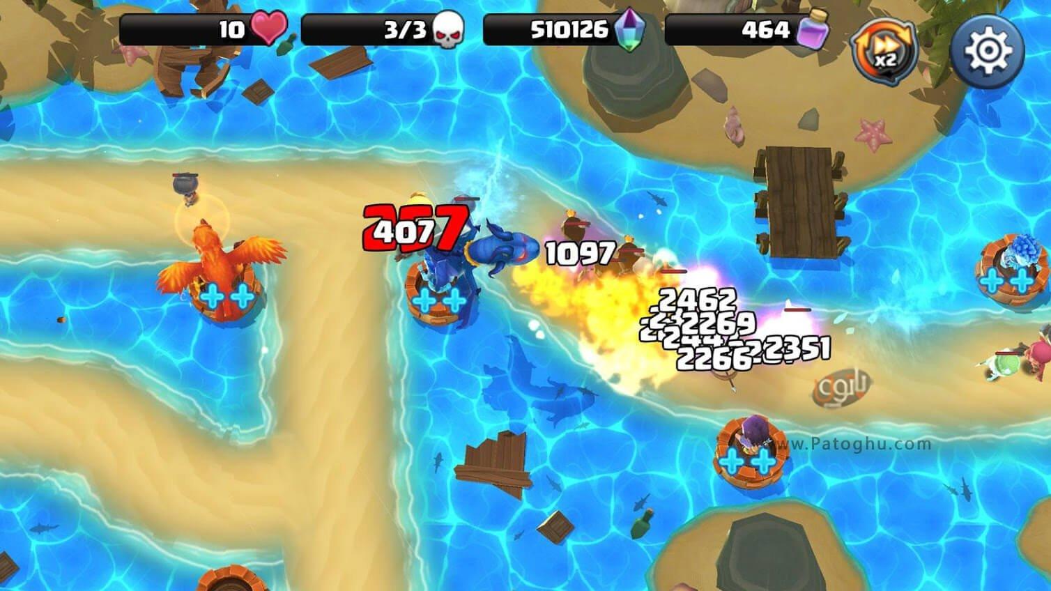 دانلود بازی 130 beast quest ultimate heroes نصب بازی
